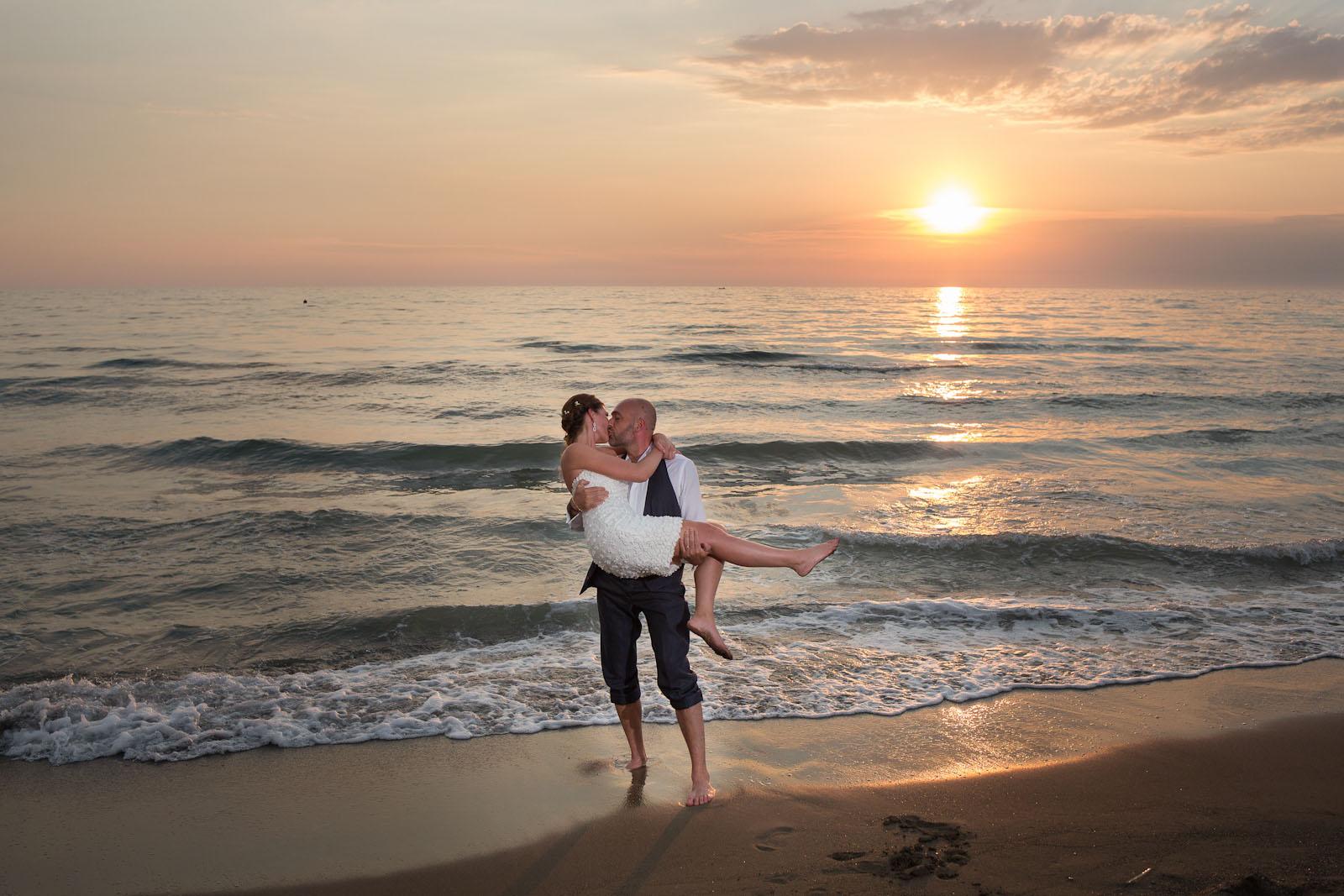 Matrimonio sulla spiaggia Toscana - Hotel I Ginepri
