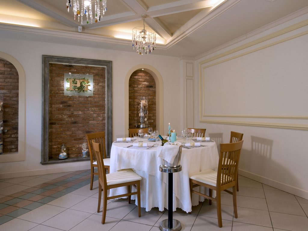 Spazi e cucina - Hotel I Ginepri