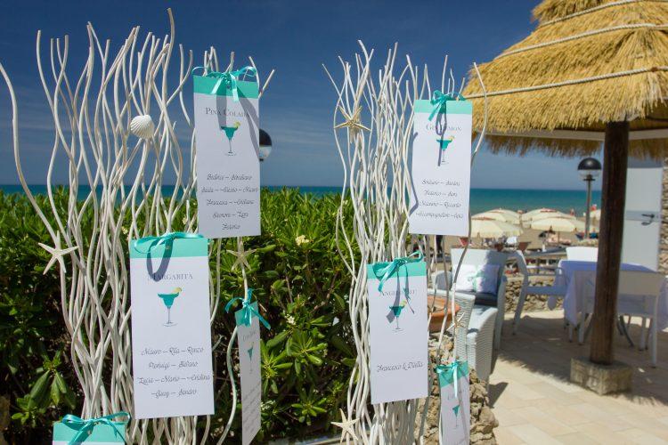 Matrimonio sul mare in Toscana - Hotel I Ginepri
