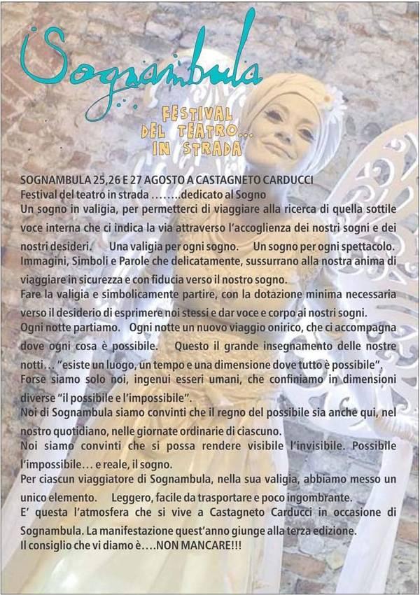 Sognambula - Festival del teatro in strada
