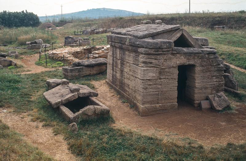 Populonia, necropoli etrusca